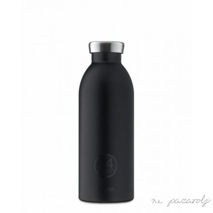 24 Bottles TUXEDO BLACK termosz 500ml