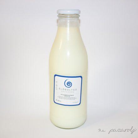 Bio pasztőrözött kistermelői teljes tej 1l