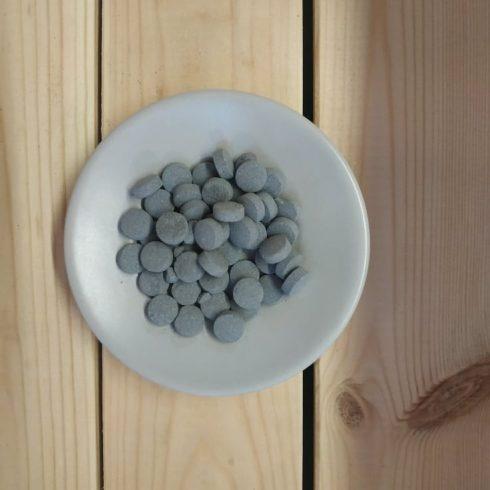 Georganics aktív szenes fogtisztító tabletta