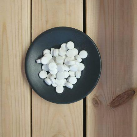 Georganics narancsos fogtisztító tabletta